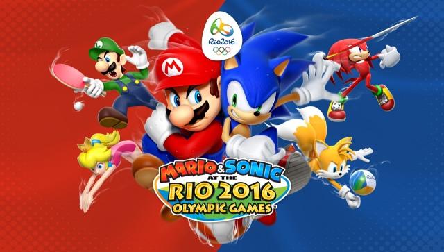 Mario & Sonic at the Rio 2016 Olympic Games áprilisban