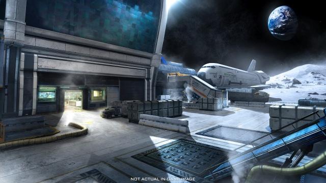 Terminal multi pálya a Call of Duty: Infinite Warfare előrendelőinek