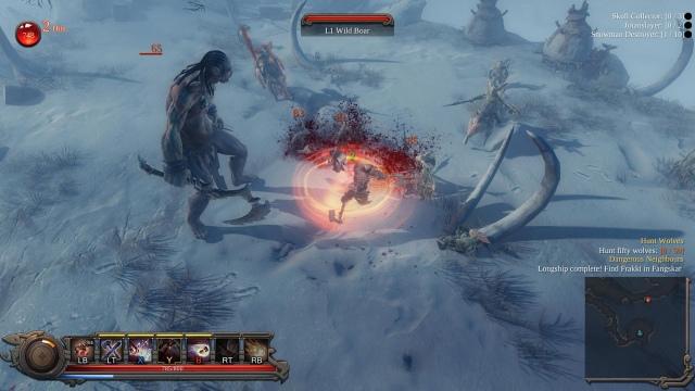 Akció-szerepjáték lesz a Vikings - Wolves of Midgard