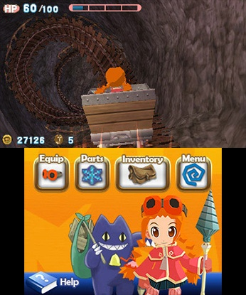 Gurumin 3D: A Monstrous Adventure (3DS)