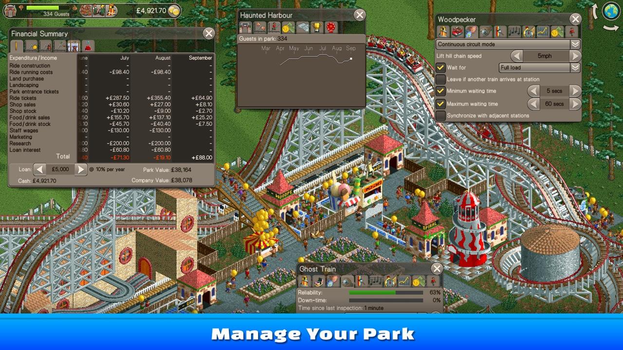 Rollercoaster Tycoon Online Spielen