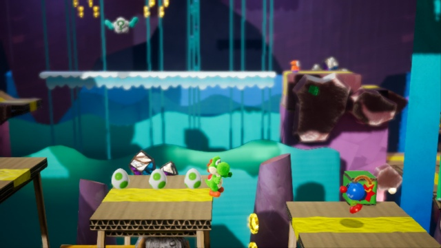 World Test Crafted Yoshi - Mario's pretty little dinosaur has come to Switch
