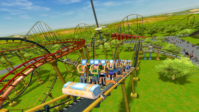 Egy hétig ingyenes PC-n a RollerCoaster Tycoon 3: Complete Edition