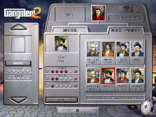 Gangsters 2 cheat