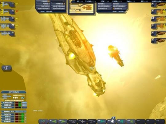 Imperium Galactica III képek