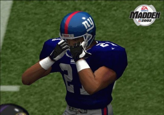 Madden NFL 2002 cheat